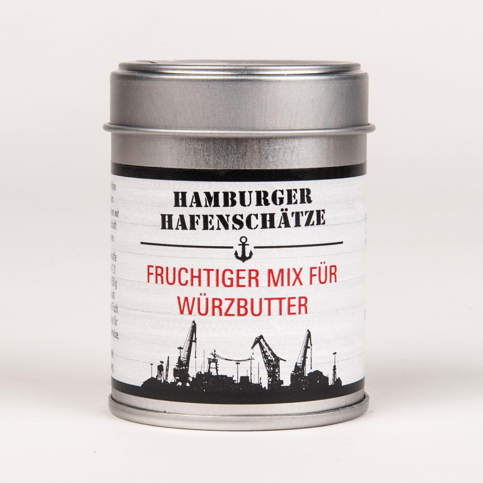 Fruchtiger Gewürz-Mix für Würzbutter & Kräuterbutter